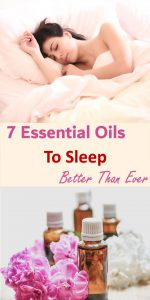 7 essential oils to sleep better than ever