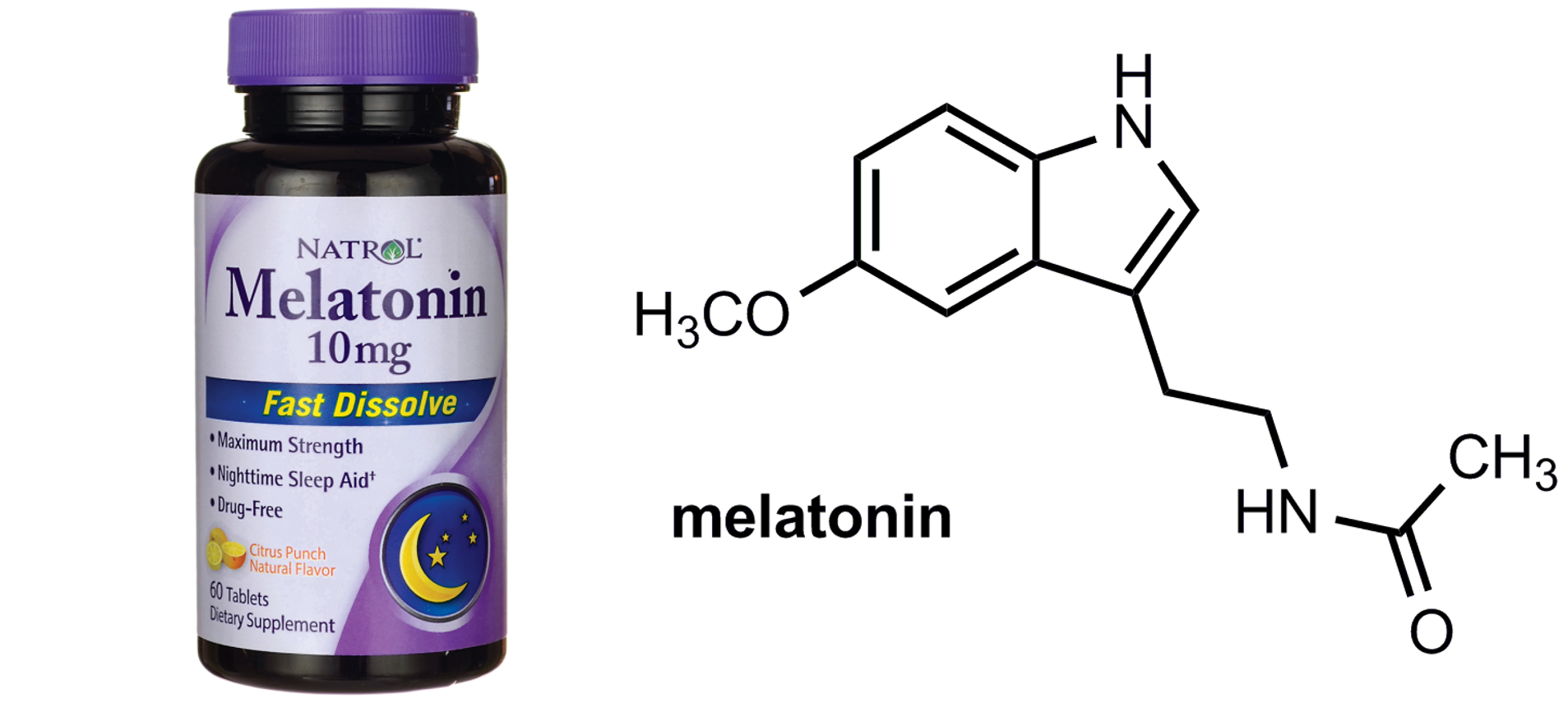 melatonin otc dietary supplement sleep