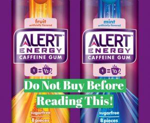 Alert energy gum full review