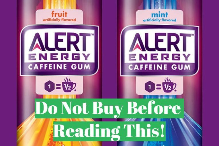 Alert energy gum full review